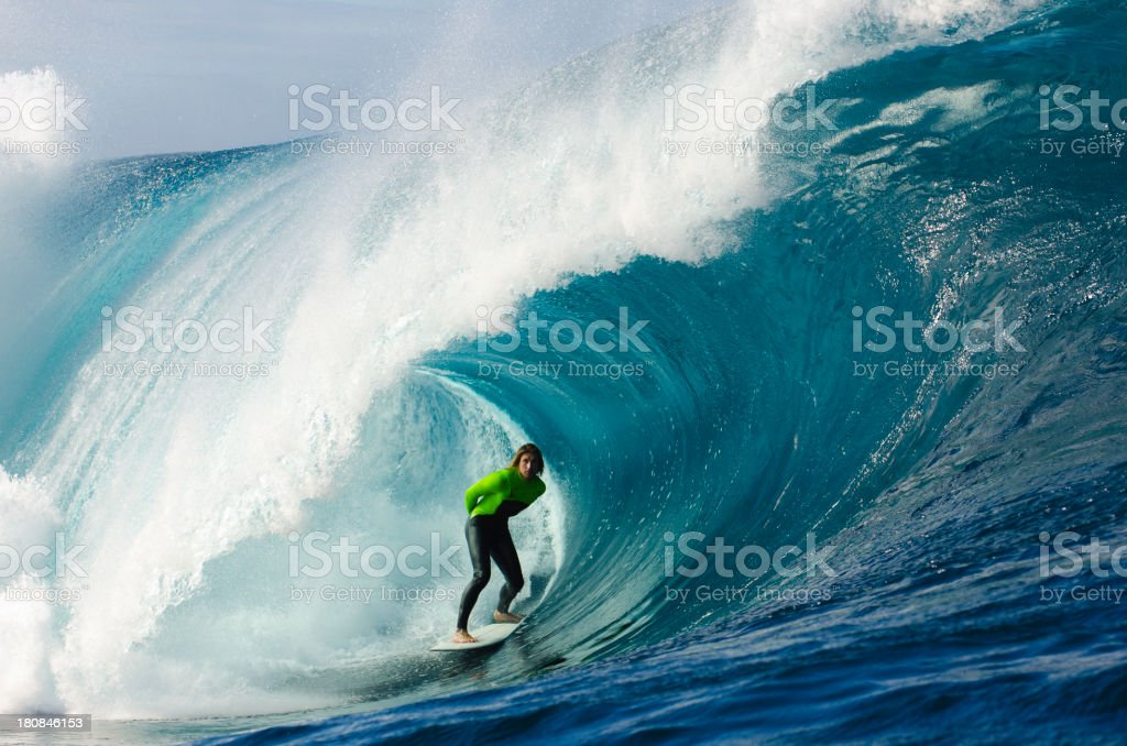 Tube Rider stock photo