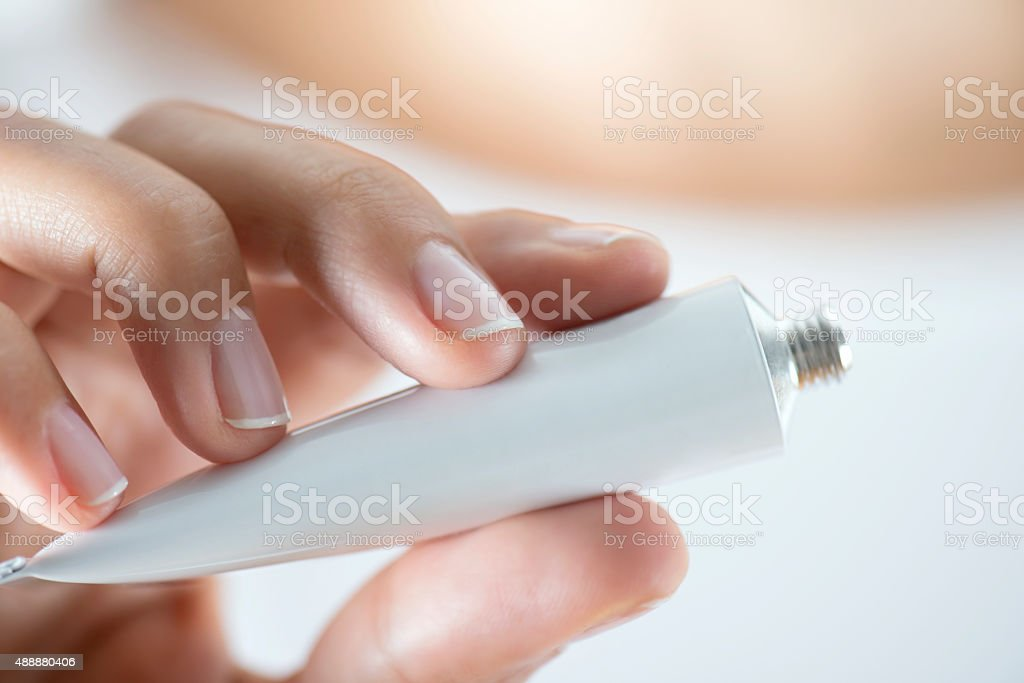 Tube With Ointment stock photo