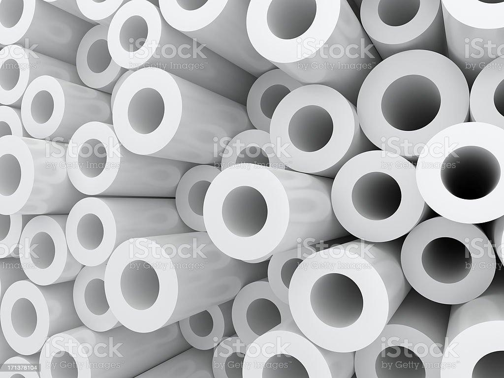 tubes background royalty-free stock photo