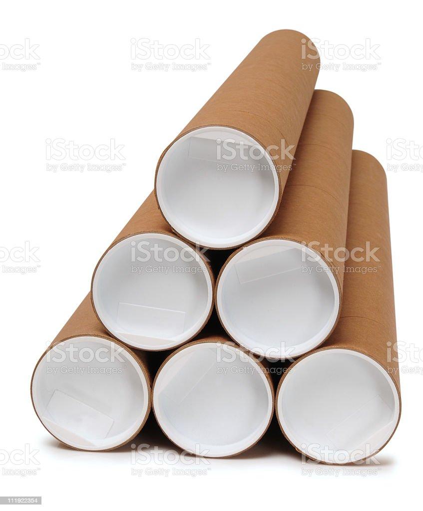 Tubes. royalty-free stock photo