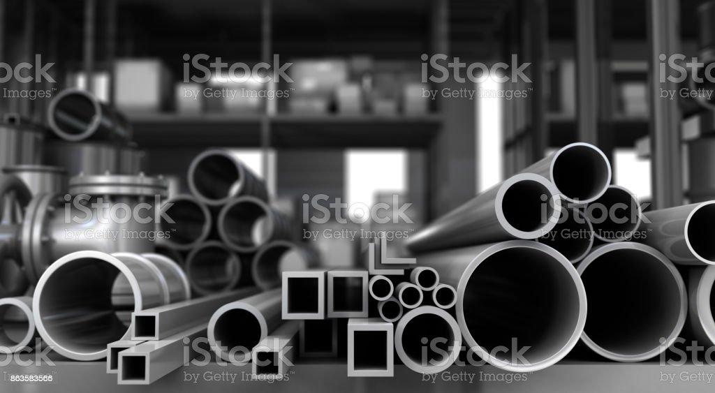 Tubes stock photo