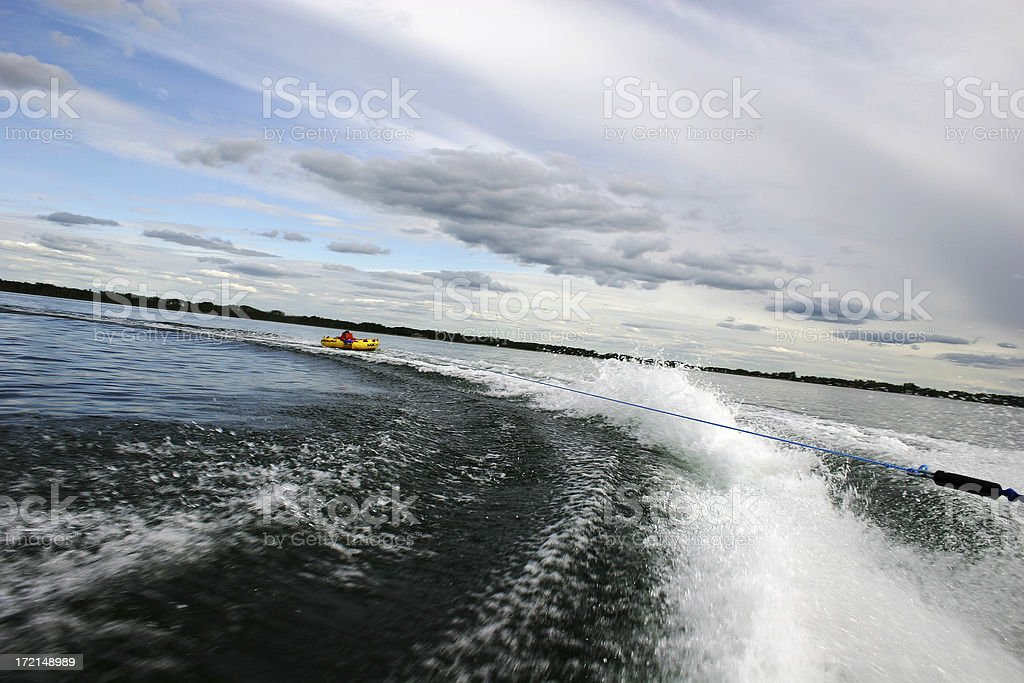 tubing fun royalty-free stock photo