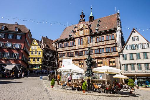 Tubingen 독일 15세기에 대한 스톡 사진 및 기타 이미지