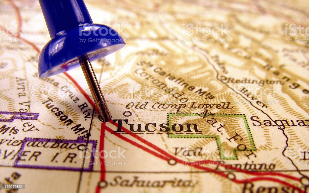 Tucson, Arizona royalty-free stock photo