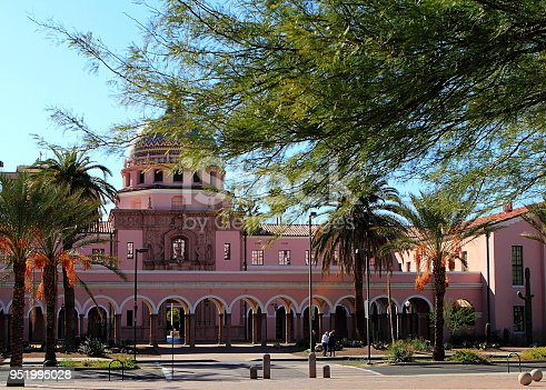 Old Pima County Courthouse in Tucson, Arizona