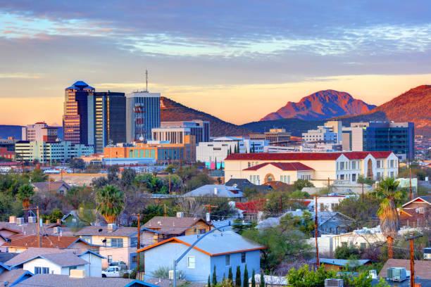 Tucson, Arizona Skyline stock photo