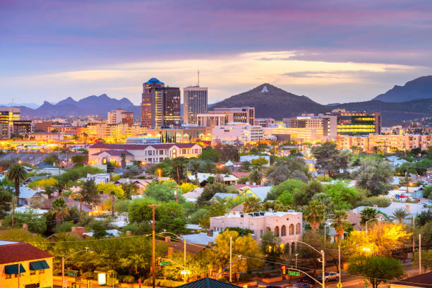 Tucson, Arizona, USA Skyline – Foto