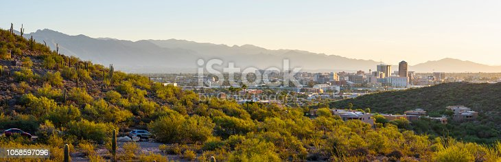 Downtown skyline of Tucson Arizona