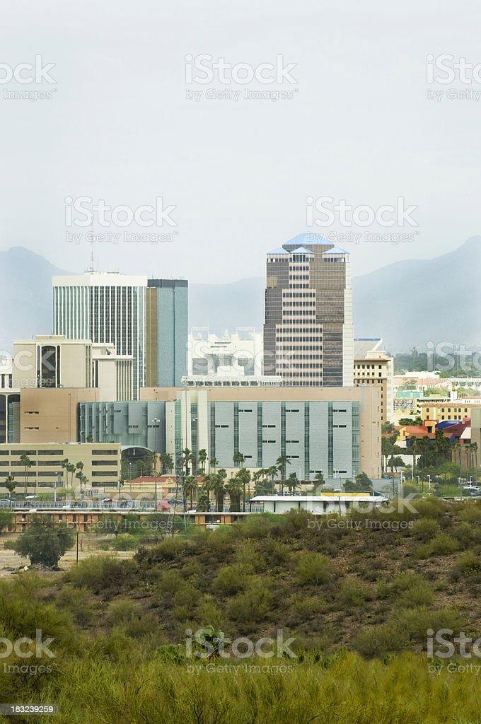 Tucson Skyline stock photo