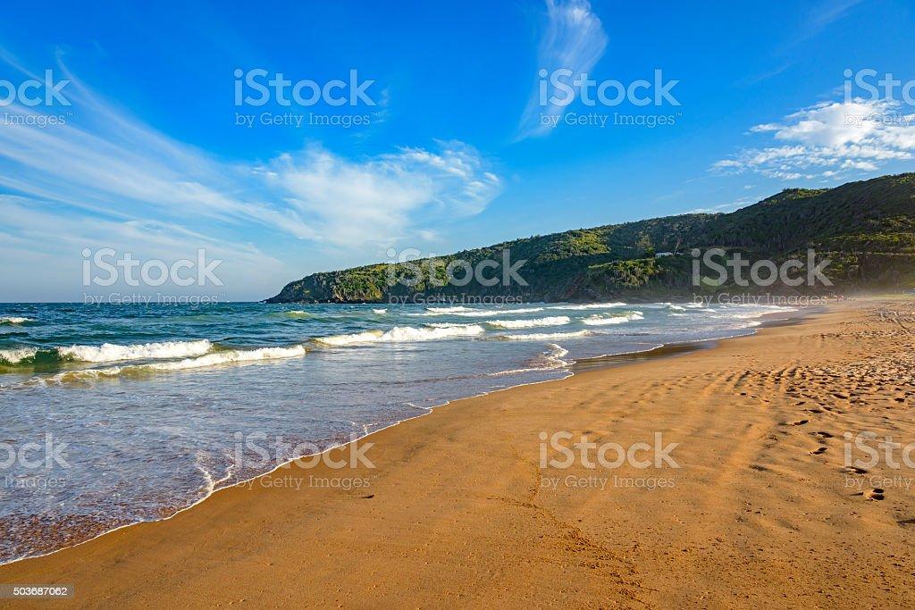 Tucuns beach stock photo