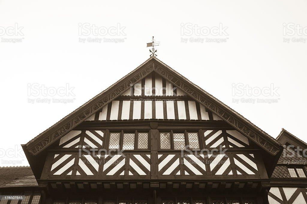 Tudor Abstract Windows royalty-free stock photo