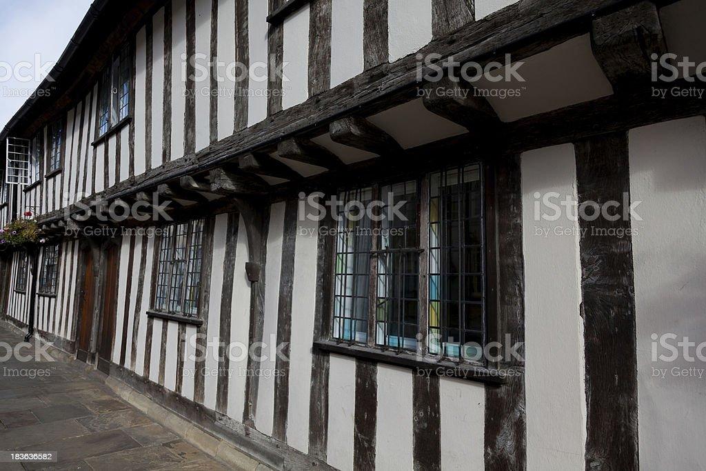 Tudor Architecture stock photo