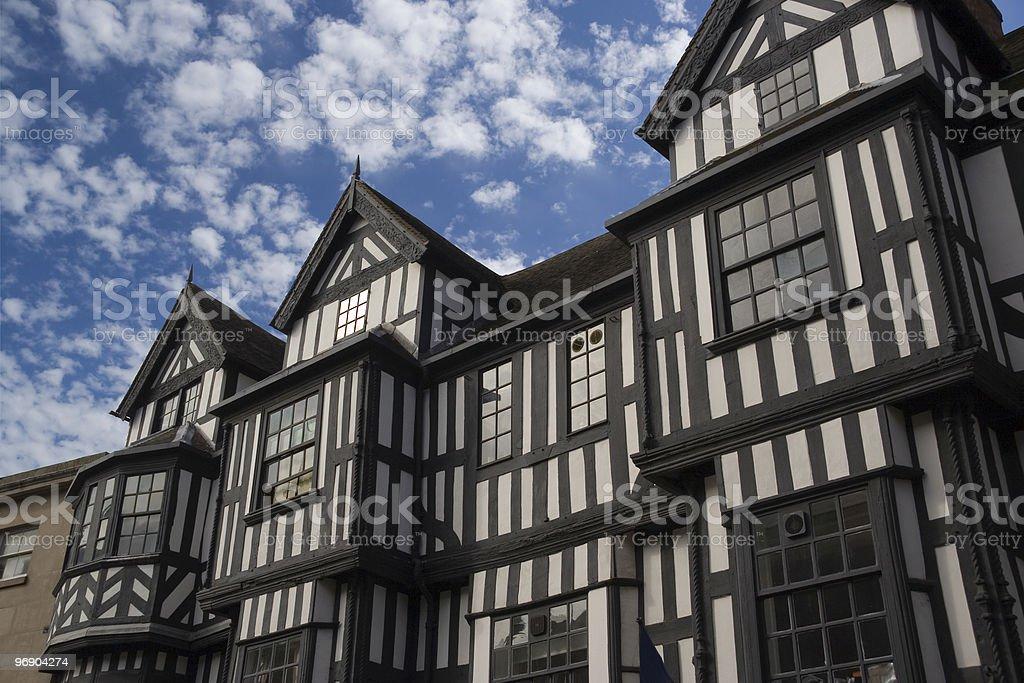 tudor facade royalty-free stock photo