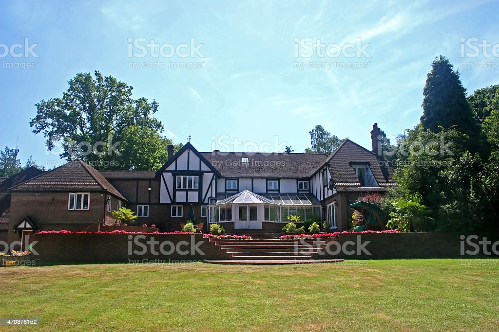 Tudor Home stock photo