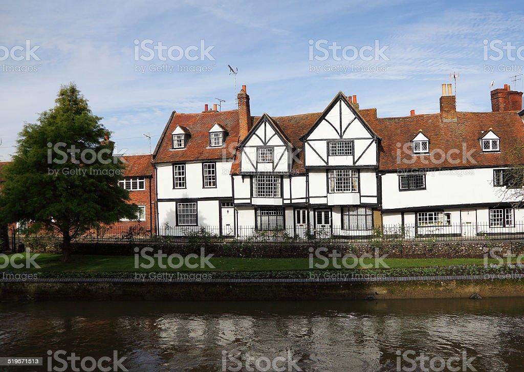 Tudor homes stock photo