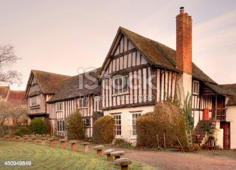 istock Tudor house, England 450949849