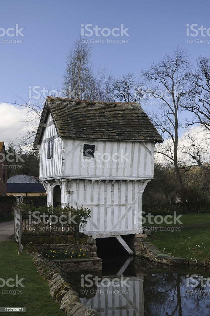 Tudor House royalty-free stock photo