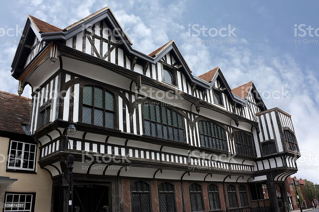 Tudor House Southampton stock photo
