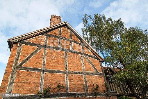 istock Tudor House Wall 873536038