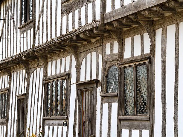 Tudor style stock photo