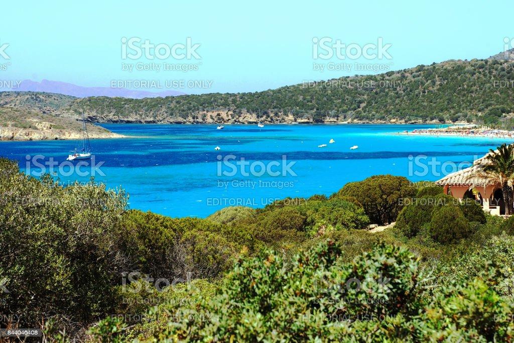 Tuerredda beach 910 stock photo