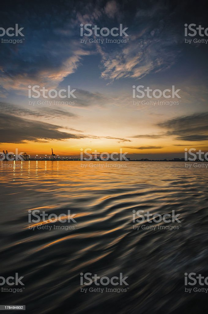 tuesday morning in ferry royalty-free stock photo