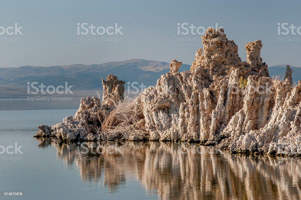 Tufas, Mono Lake, California stock photo