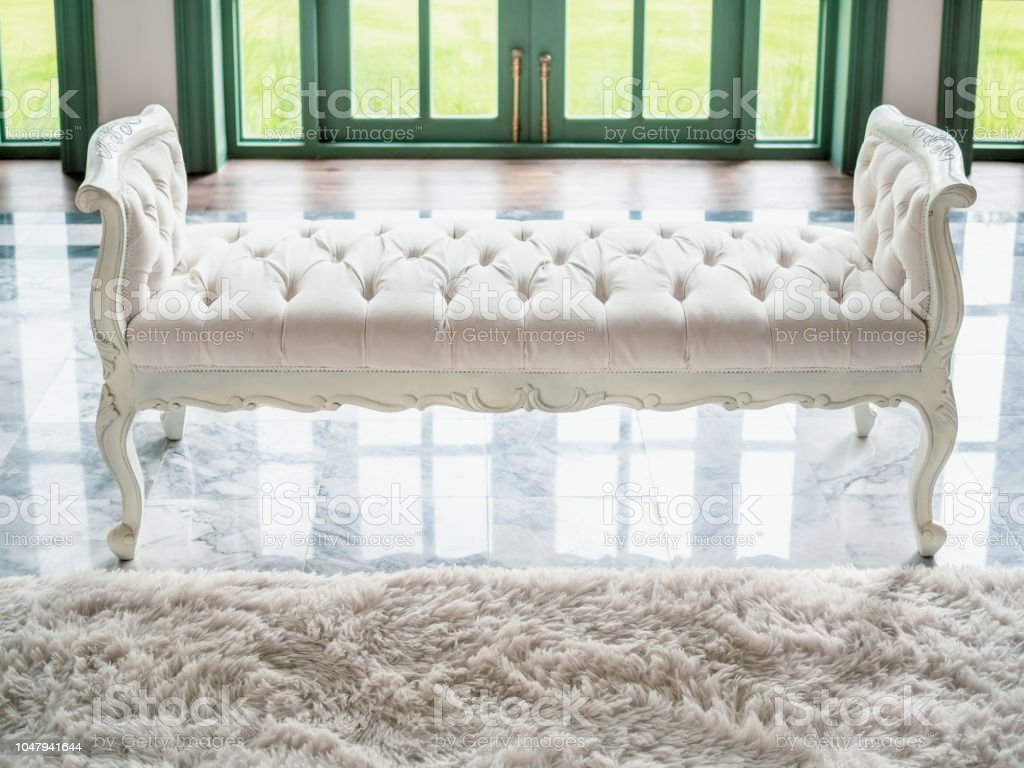 Tufted Bench Stock Photo Download Image Now Istock