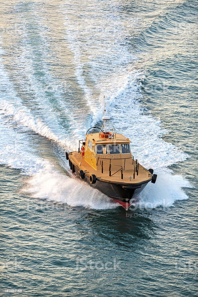 tug and ferry boat royalty-free stock photo