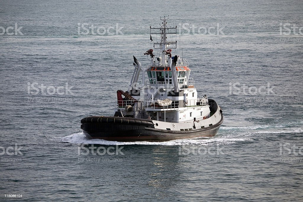 Tug Boat royalty-free stock photo