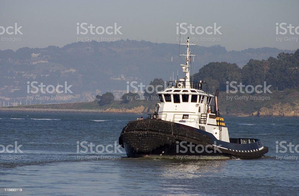 Tugboat 1 royalty-free stock photo