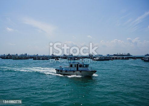 istock A tugboat entering the harbour 1344860775