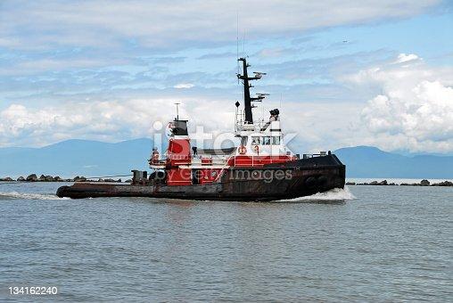 Tugboat near the harbor.