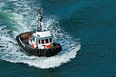 A tough little tugboat.