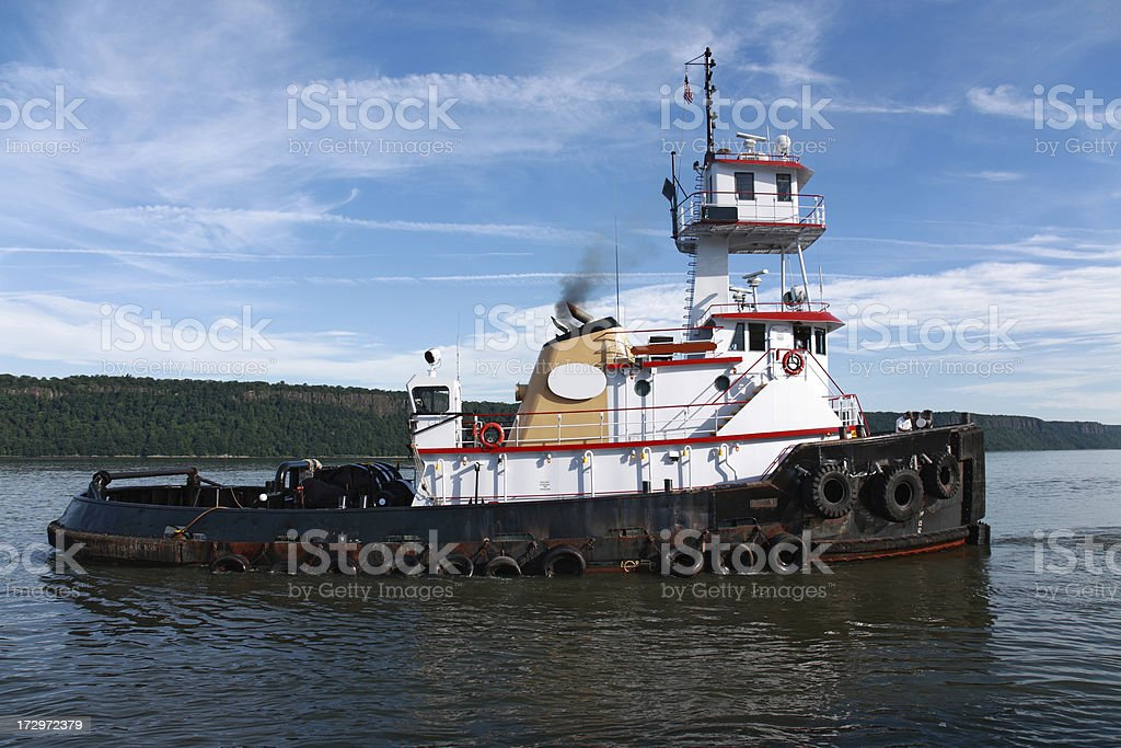 tugboat royalty-free stock photo