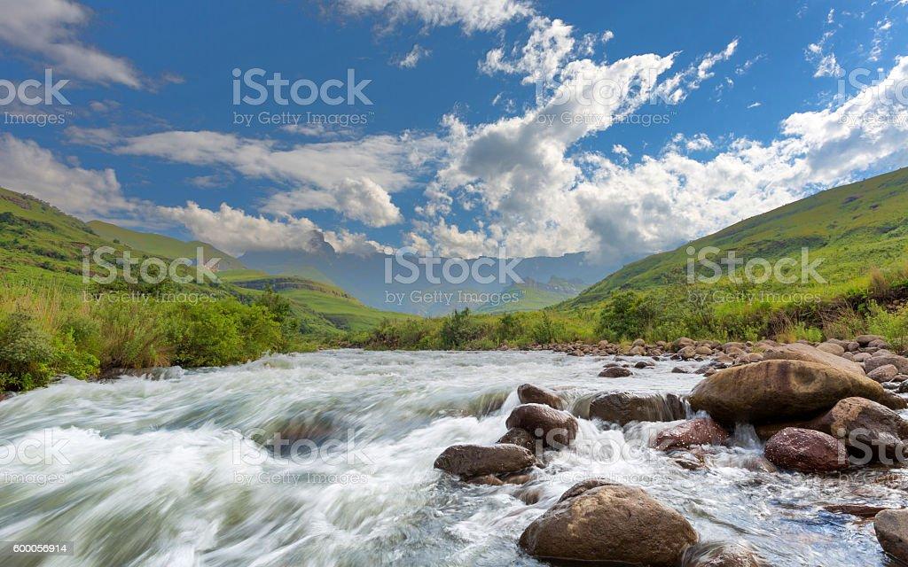 Tugela River stock photo