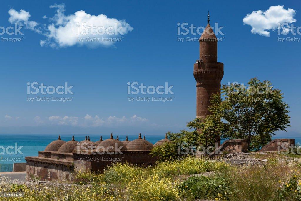 tugrul bey mosque stock photo