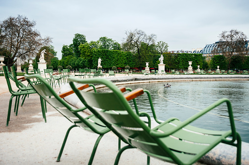 Tuileries Garden in Paris