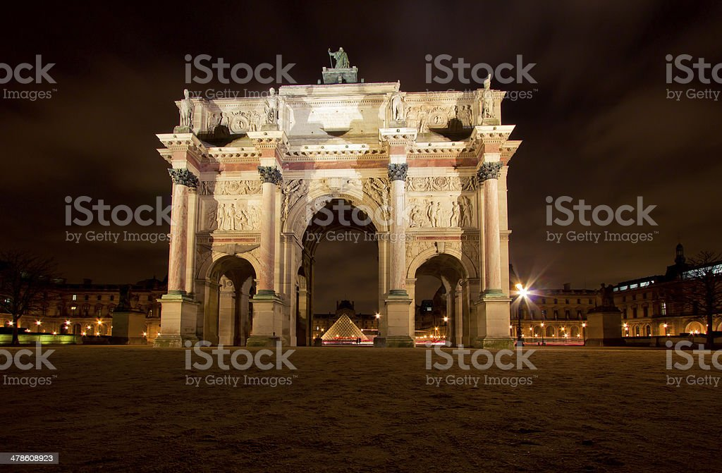 Tuileries stock photo