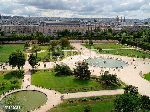 istock Tuileries's gardens 152159034