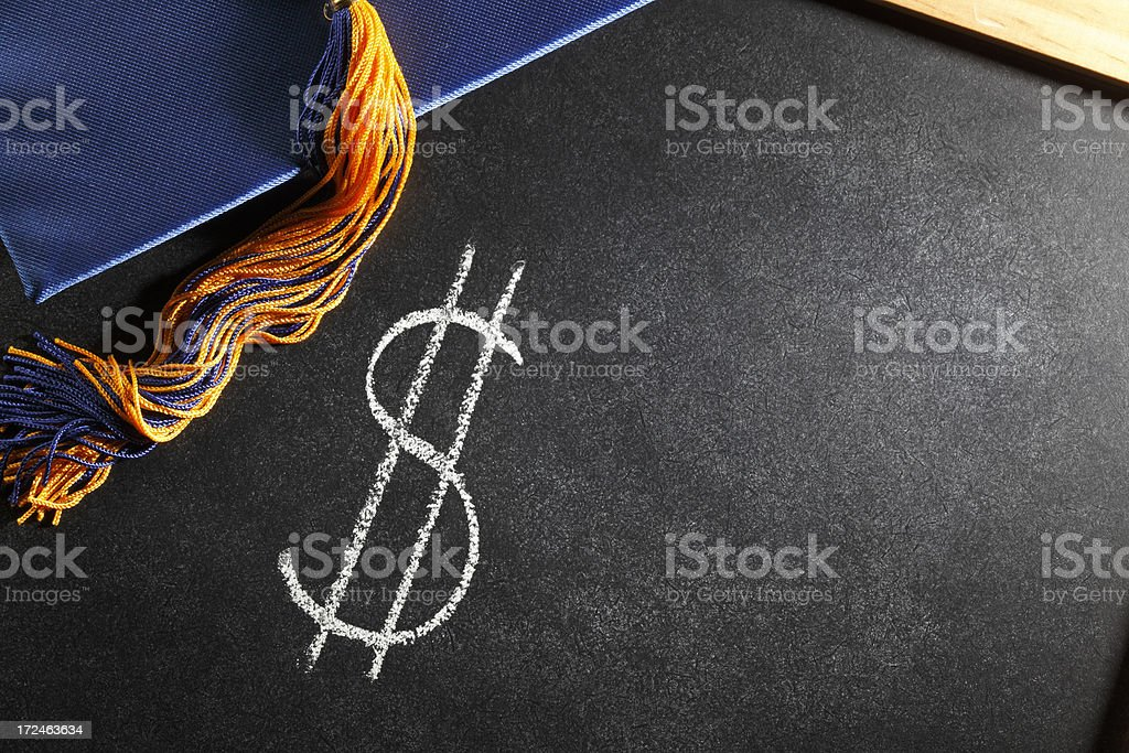 Tuition royalty-free stock photo
