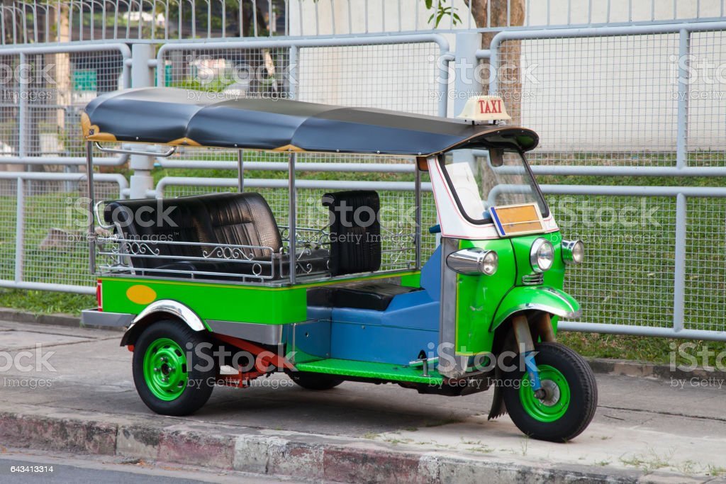 Tuk tuk from Thailand stock photo