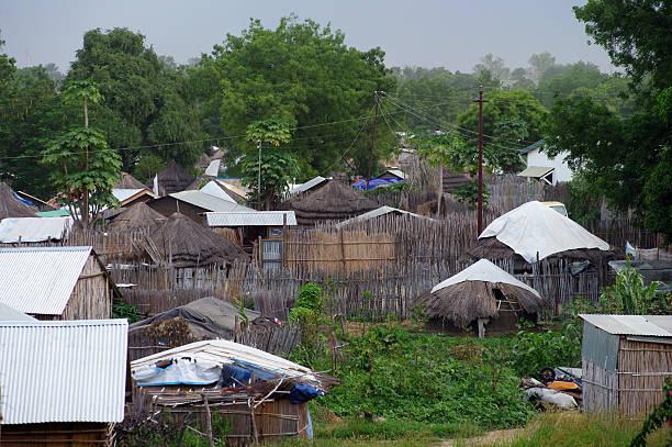 tukols in juba, southern sudan - sudan stock photos and pictures