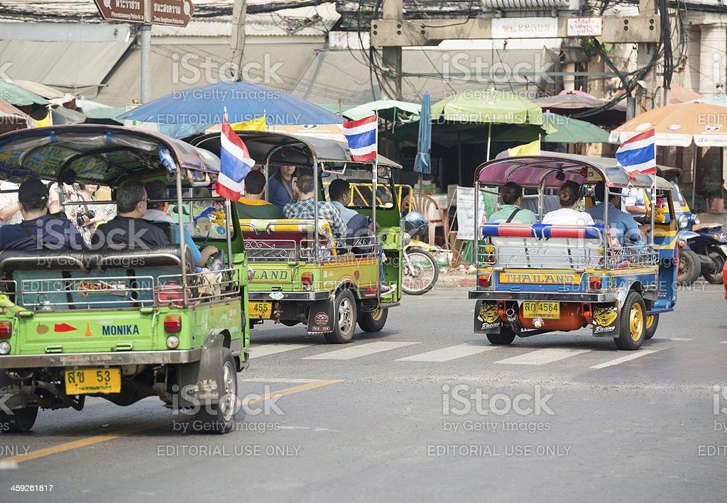 Tuk-Tuk, Bangkok royalty-free stock photo