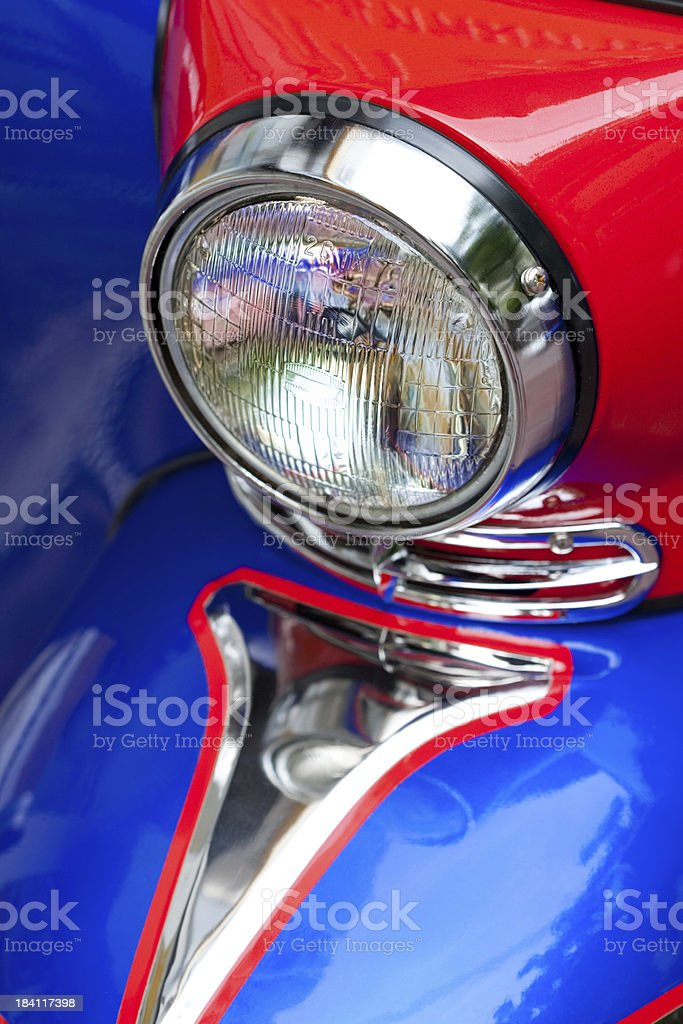 Tuk-Tuk Headlight royalty-free stock photo