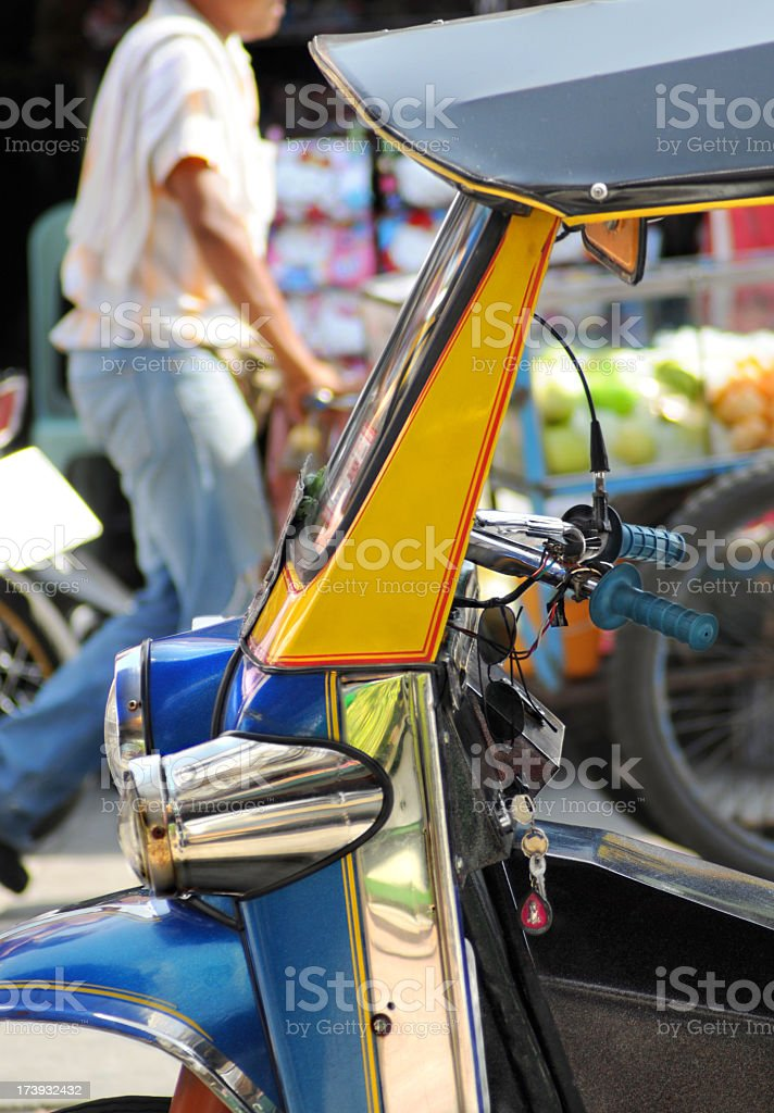 Tuktuk in Bangkok royalty-free stock photo