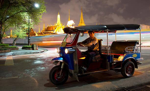 Tuk-Tuk in der Nähe der Grand Palace Bangkok Thailand – Foto