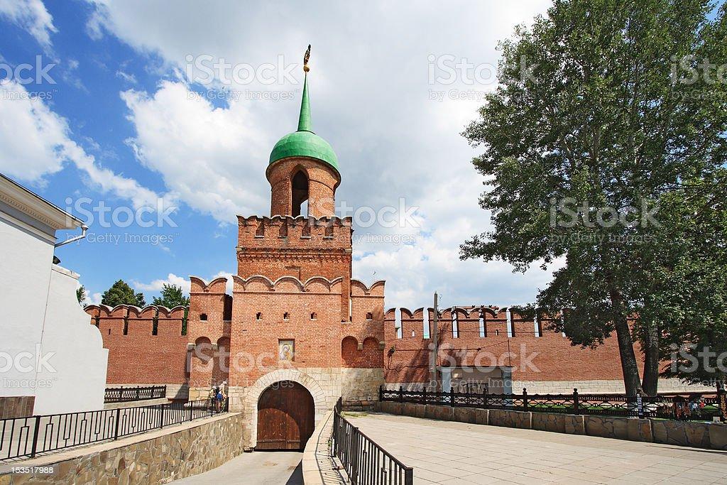 Tula Kremlin stock photo