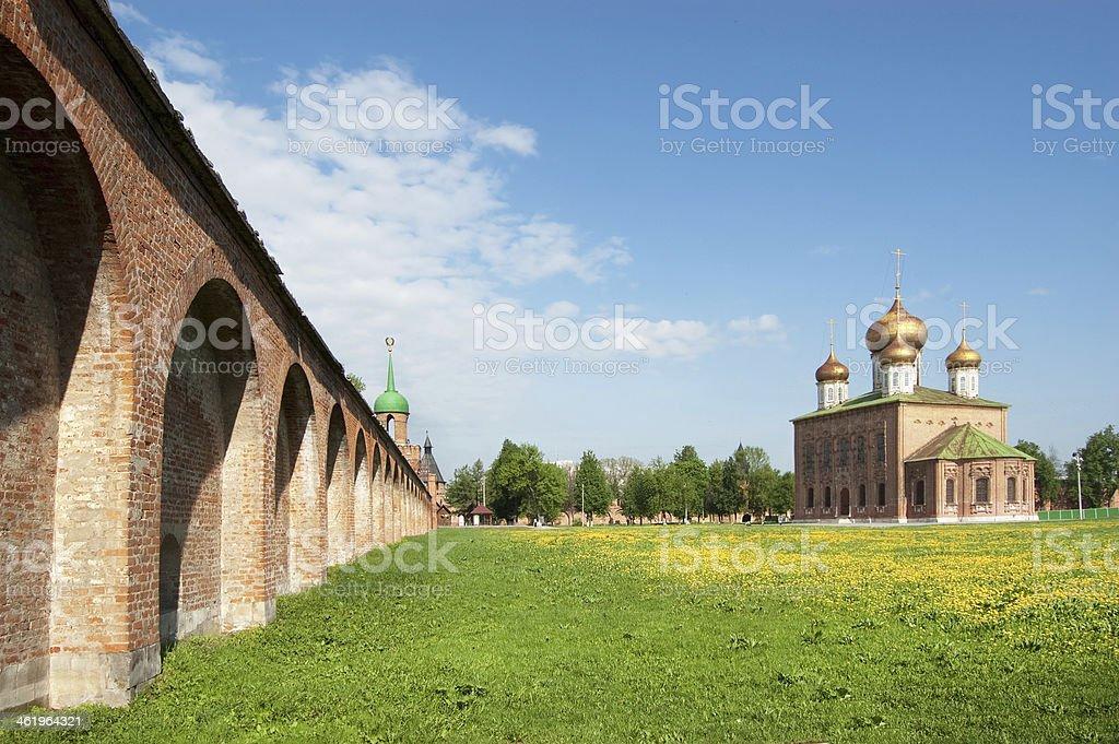 Tula Kremlin (1522), Russia stock photo