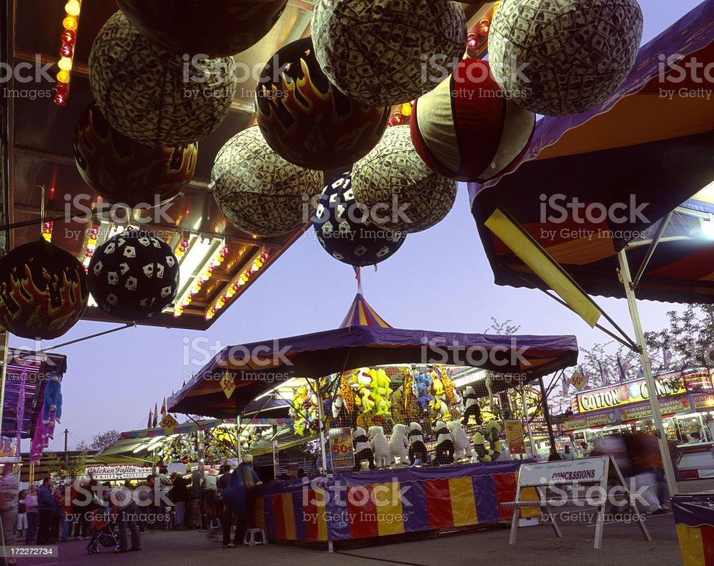 Tulip Festival Carnival I stock photo